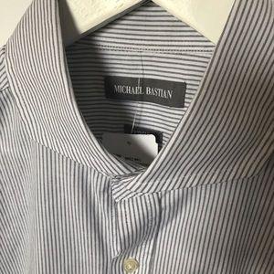 NWT Michael Bastian Men's Dress Shirt 16 1/2 32/33